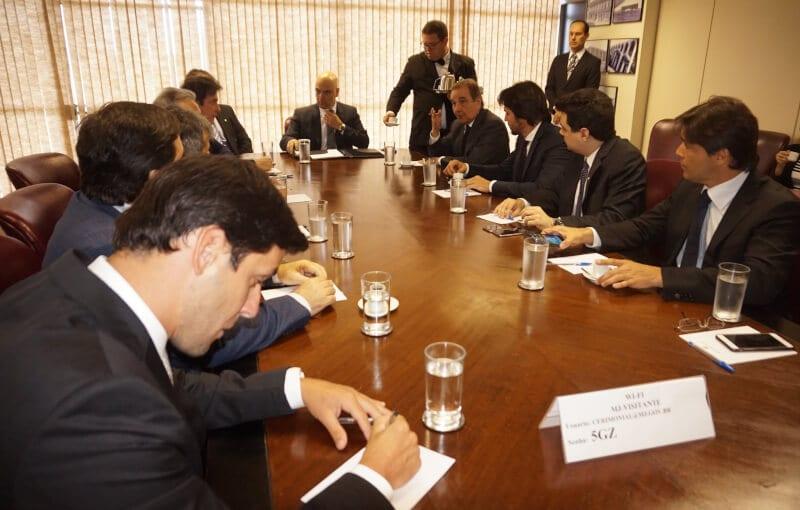 Ministro da Justiça se reúne com governador Robinson Faria e bancada federal