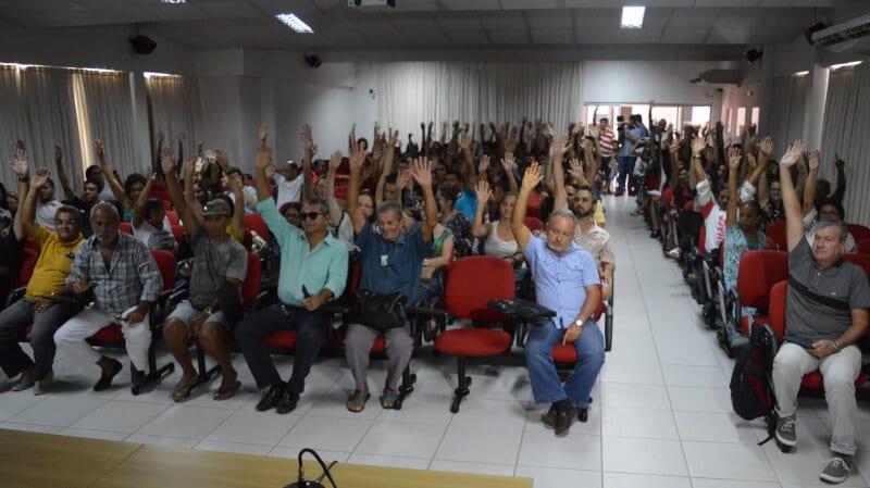 Sindicato dos Servidores de Natal anuncia que greve está mantida, mesmo com ameaça da Prefeitura