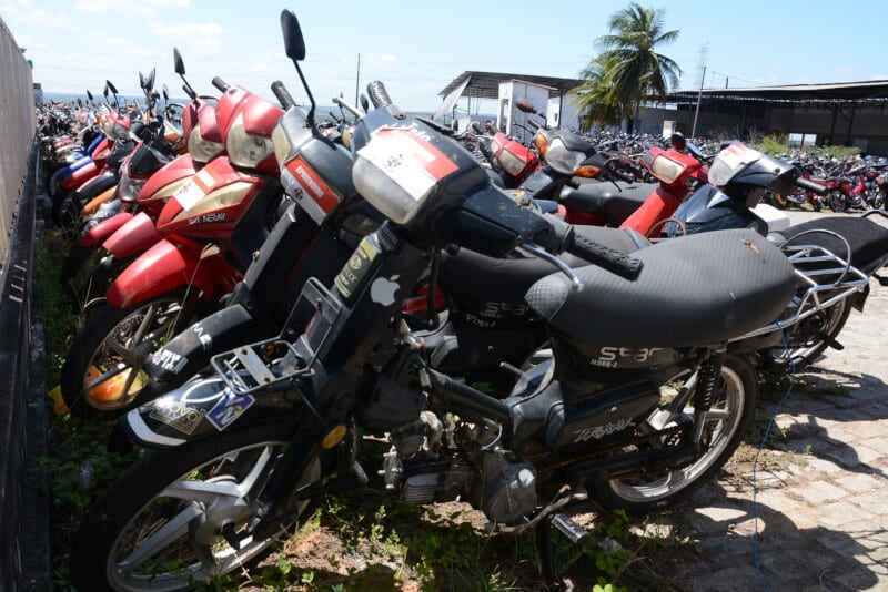Meta do Governo é regularizar 160 mil motocicletas