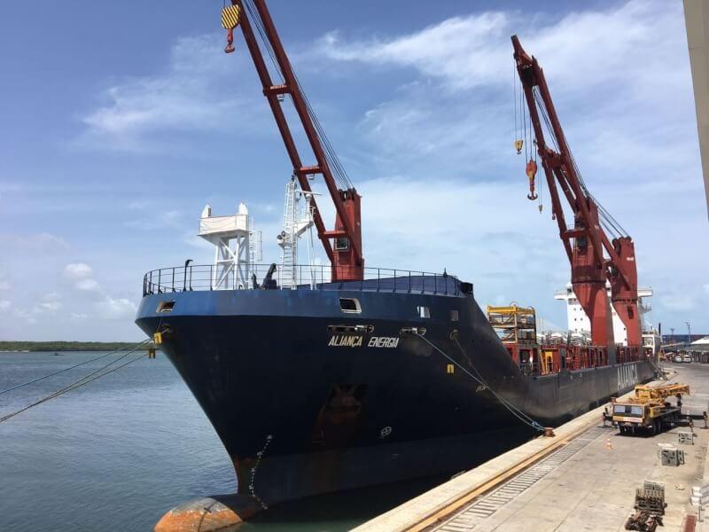 Porto de Natal vai receber nove navios com equipamentos eólicos em 2017