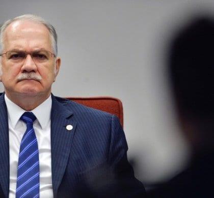 Foto: Jose Cruz/Agencia Brasil  Brasilia – DF, Brasil – Ministro do STF, Edson Fachin, convocou nesta terca-feira (19) uma audiencia com governadores para discutir a divida dos estados, e a mudanca na formula de cobranca da taxa de juros.