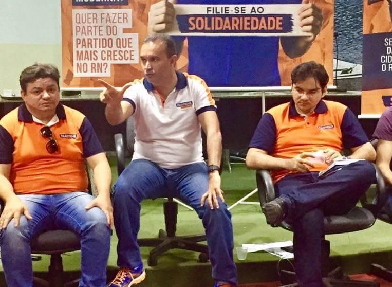 Prefeito de Jucurutu assina ficha de filiação do Solidariedade