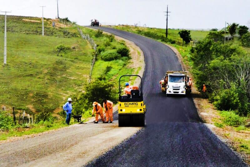 Deputado Ezequiel viabiliza obra na RN-003 que liga Goianinha a Santo Antônio passando por Espírito Santo