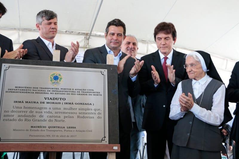 Governador participa da liberação do segundo viaduto na BR-101, em Parnamirim