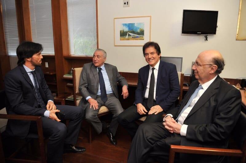 Em reunião com presidente Temer, Robinson trata de investimentos para o Rio Grande do Norte