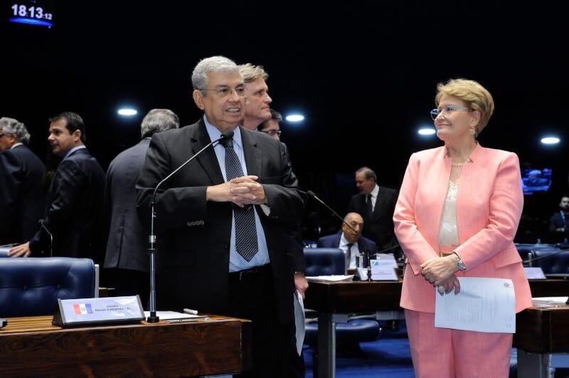 Plenário do Senado durante sessão deliberativa ordinária.  Em pronunciamento, senador Garibaldi Alves Filho (PMDB-RN).   Foto: Waldemir Barreto/Agência Senado
