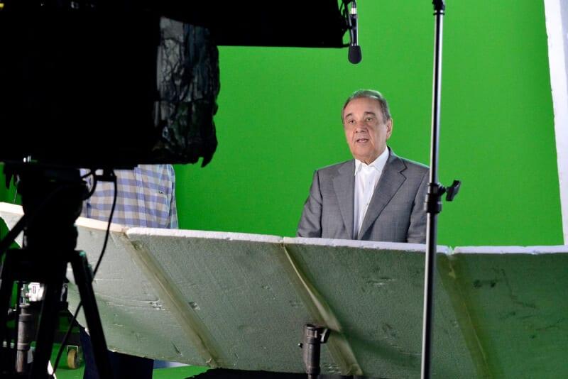 Em Brasília, Agripino grava programa partidário que irá ao ar dia 9 de maio