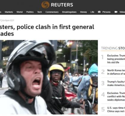 Imprensa International destaca protestos no Brasil