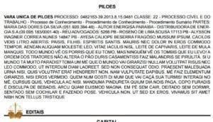 TJ da Paraíba investiga se texto inspirado em Mussum no Diário da Justiça foi obra de hacker