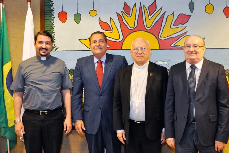 Presidente da Assembleia trata da transposição e dos mártires com Dom Jaime
