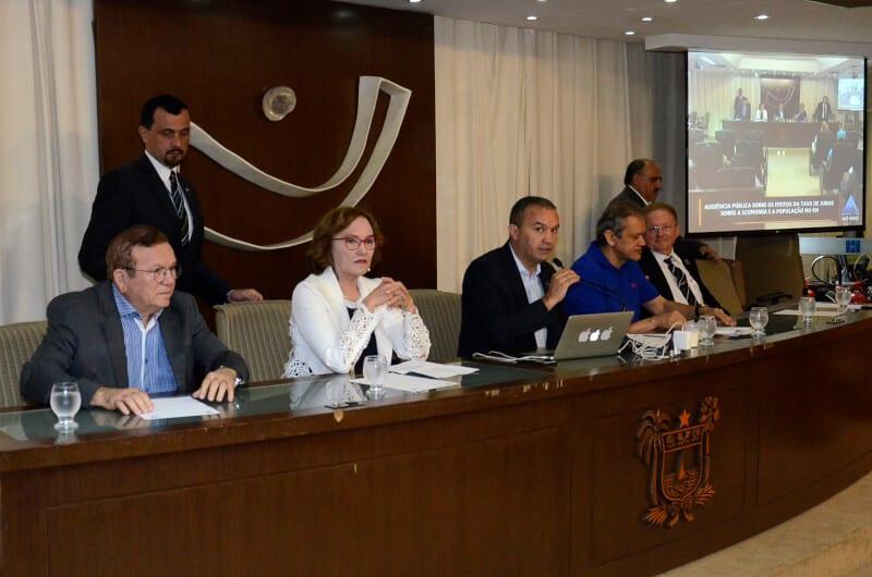 Redução de juros e seus efeitos na vida dos brasileiros são debatidos na Assembleia