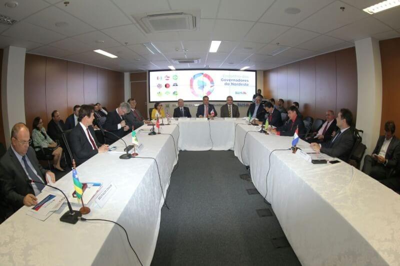 Governador Robinson participa da reunião de Governadores do Nordeste em Salvador