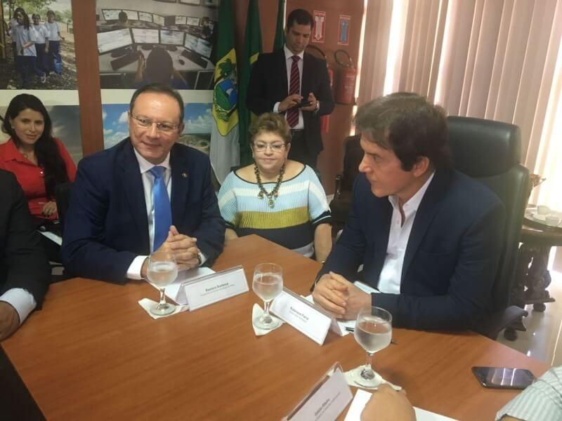 Governador se reúne com presidentes de Câmaras Municipais do RN e firma parcerias