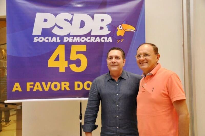 Presidente da Femurn assina ficha de filiação do PSDB e assume secretaria geral do partido