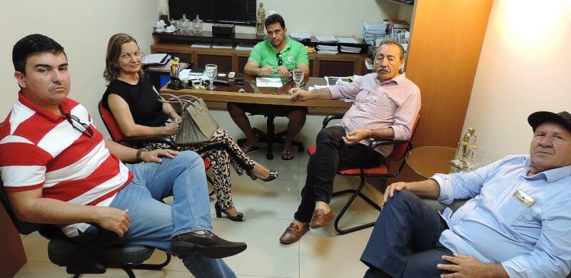 Deputado José Adécio participa de encontro para tratar sobre segurança em Pedro Avelino