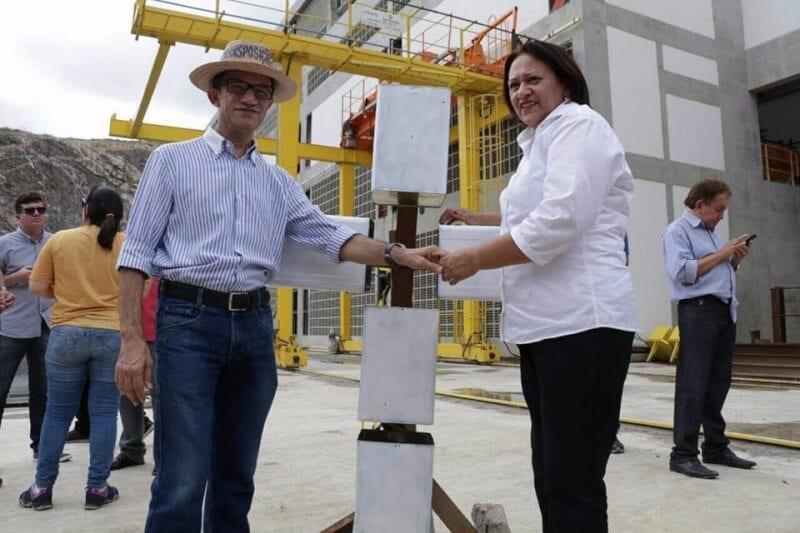 Senadora Fátima Bezerra participa da Caravana das Águas