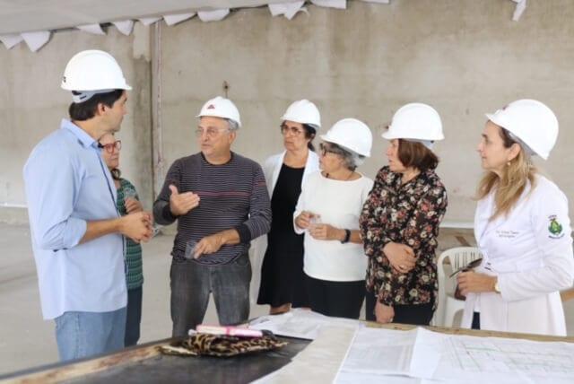 Deputado Felipe Maia visita instalações do Instituto de Medicina Tropical da UFRN