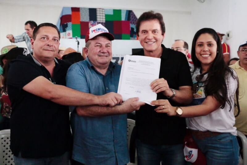 No Seridó, governador anuncia perfuração de poços em Cruzeta