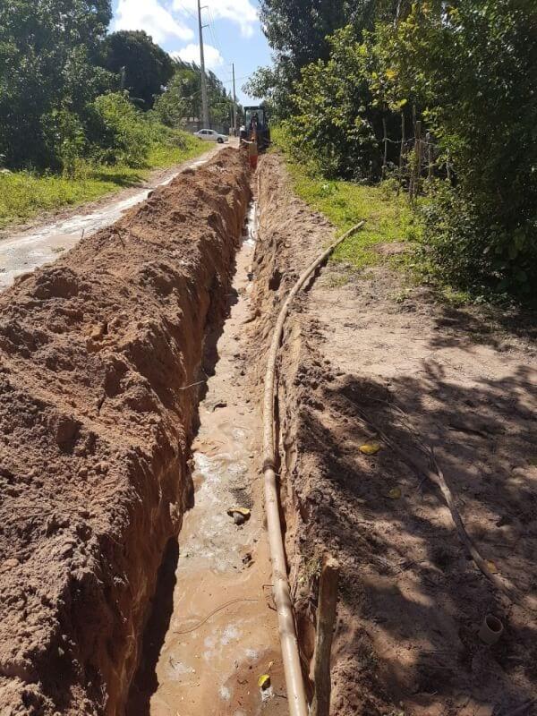 SAAE amplia mais de 15 mil metros de rede de abastecimento d'água em São Gonçalo