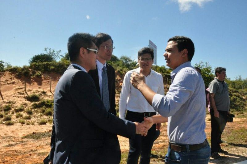 Chineses visitam terreno em Extremoz e seguem planejamento para implantação de fábrica
