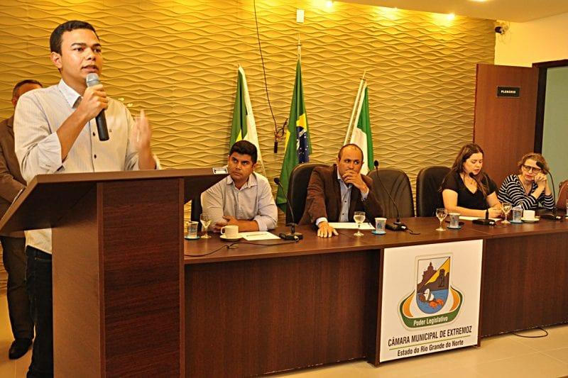 Prefeitura de Extremoz empossa novos integrantes do Conselho Municipal de Saúde