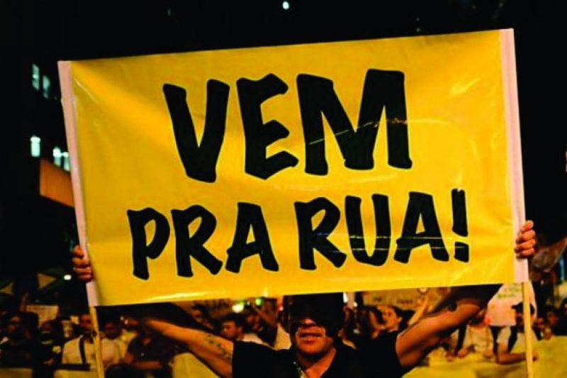 """Movimento vem pra rua lançará campanha """"Tchau Queridos"""""""