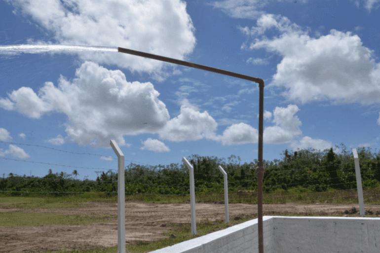 Em São Gonçalo, SAAE ativa novo poço para seis comunidades