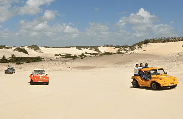 Extremoz lança sistema de fila única para passeios de buggy