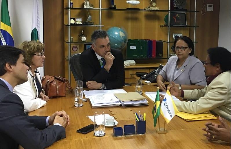 Bancada federal solicita ao Presidente dos Correios a permanência dos bancos postais no RN