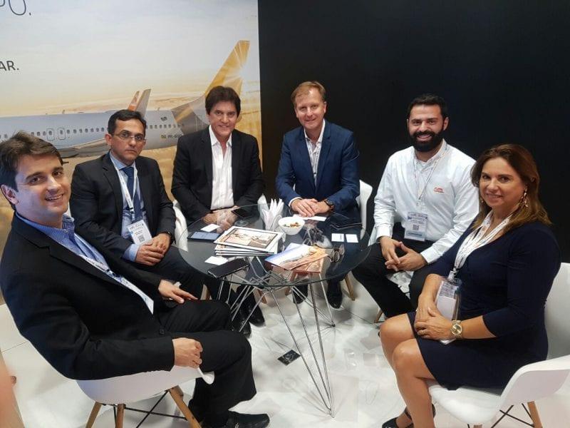 Governador se reúne com companhias aéreas durante visita a 45ª Abav Expo Internacional de Turismo