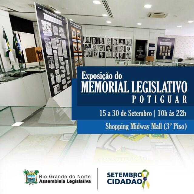 Exposição do Memorial do Legislativo Potiguar