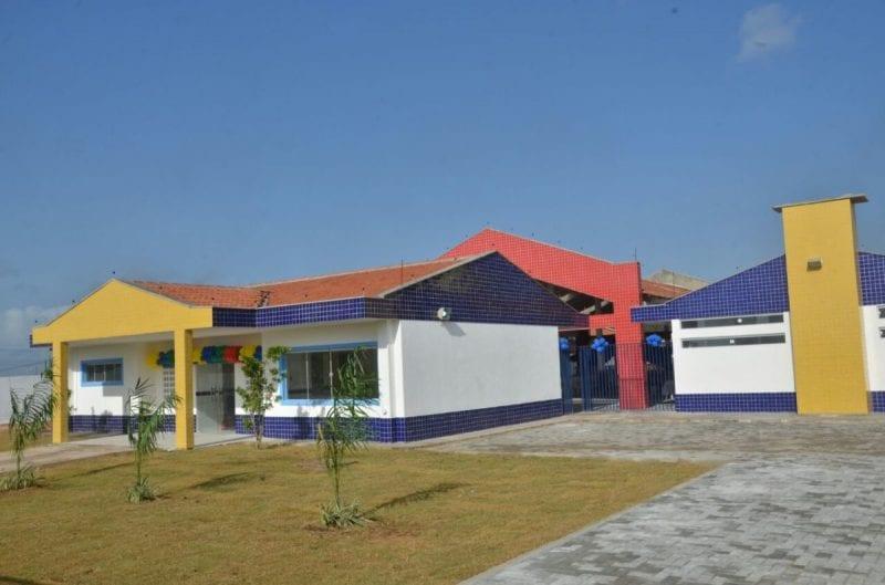 Prefeito Paulinho inaugura Centro Municipal de Ensino Infantil em São Gonçalo