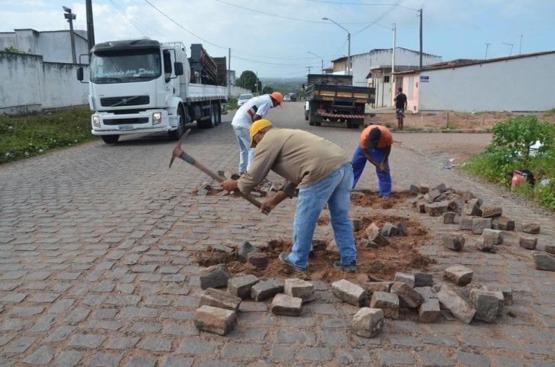 Prefeitura de São Gonçalo realiza obras em acesso ao Aeroporto
