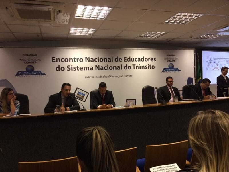 Apresentação da nova campanha do Detran é destaque no II Encontro Nacional de Educadores de Trânsito