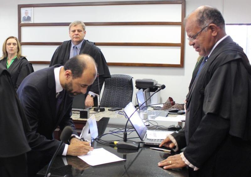 Wlademir Capistrano toma posse como titular da corte eleitoral potiguar