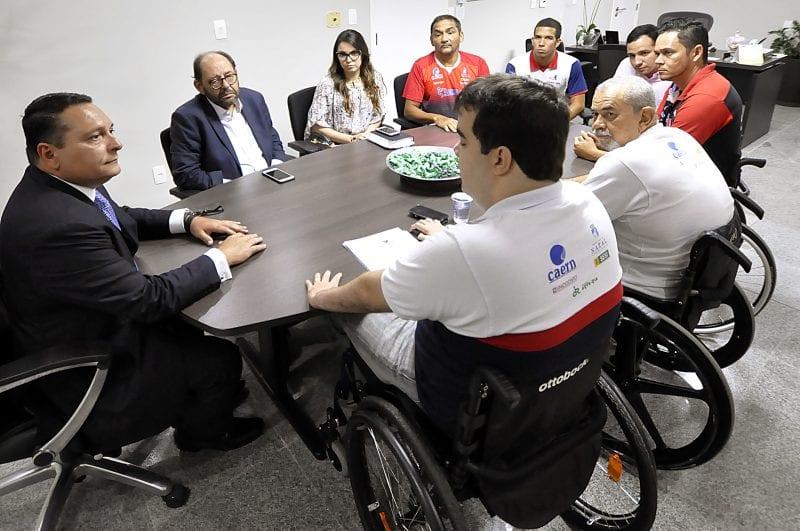 Presidente da Assembleia recebe pleitos da Sociedade Amigos do Deficiente Físico