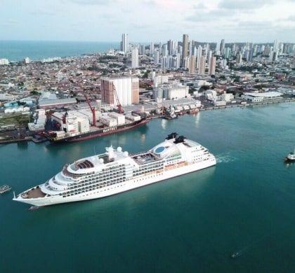 CODERN estima que Cruzeiro Seabourn Quest pode ter movimentado até R$ 300 mil na economia local