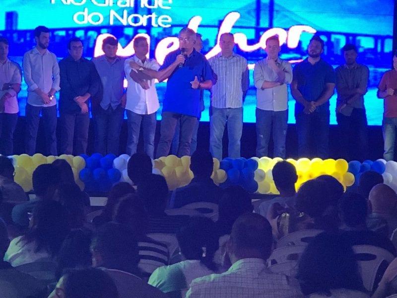 Em grande evento na cidade de Mossoró, Tião Couto e Jorge do Rosário são pré-lançados ao pleito de 2018