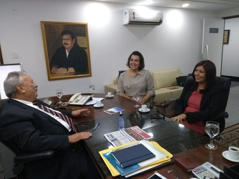 Presidente do Crea-RN discute mutirão de conciliação com presidente do Tribunal de Justiça