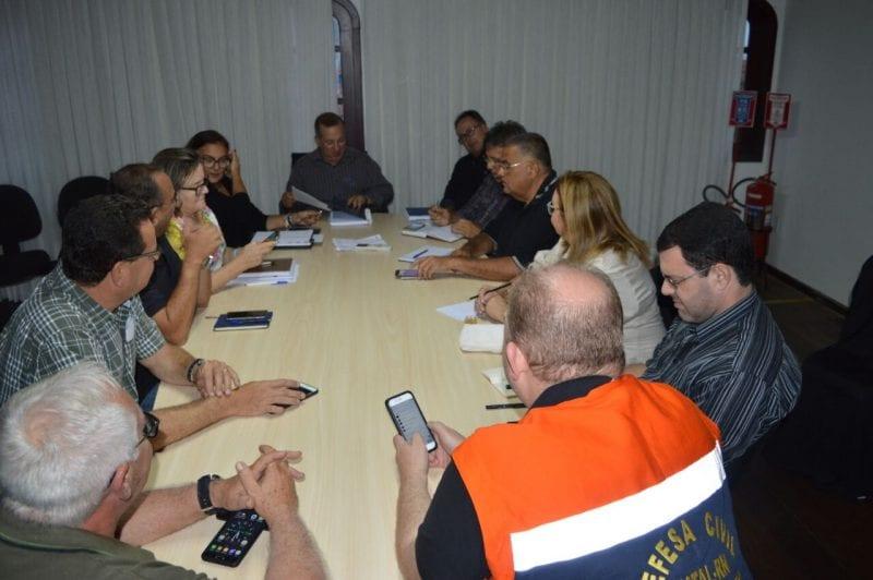 Prefeitura mobiliza secretarias para medidas de prevenção às chuvas