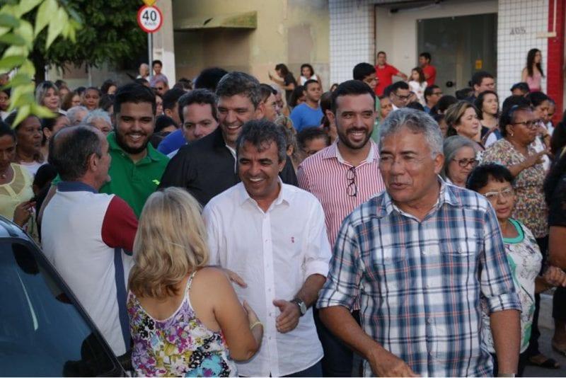 Na procissão de São José em Mossoró, Tião Couto e Jorge do Rosário