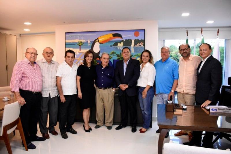 Geraldo Melo se reúne com cúpula do PSDB e será candidato do Senado