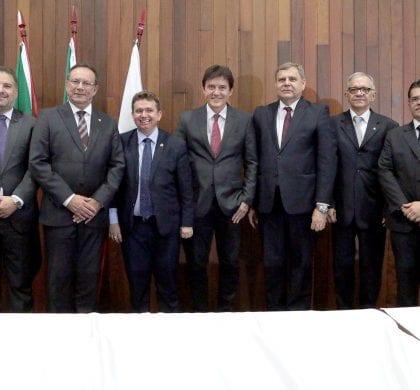 Governador participa de posse da nova diretoria da AMARN