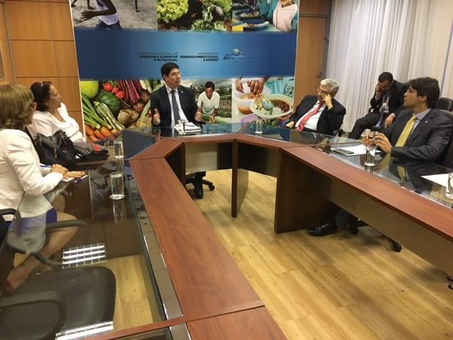 Parlamentares potiguares cobram de Secretário do MDS liberação de recursos para implantação de cisternas no RN