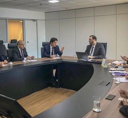 Em Brasília, Robinson trata da liberação de R$ 100 milhões para a Segurança Pública e discute operações de crédito