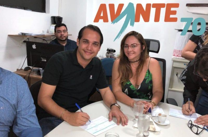 Pré-candidato a deputado estadual, Kleber Rodrigues assina ficha de filiação do Avante