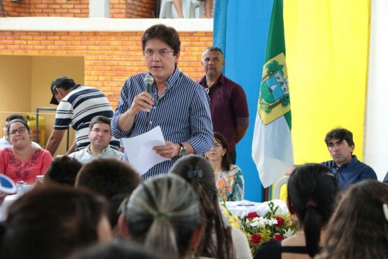 Governador Robinson Faria cumpre agenda no Seridó