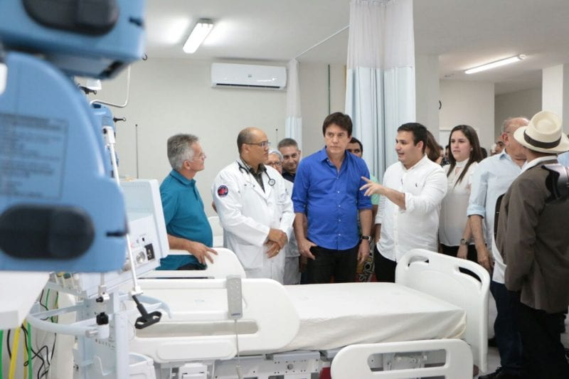 Governo instala 10 leitos de UTI no Hospital Regional do Seridó