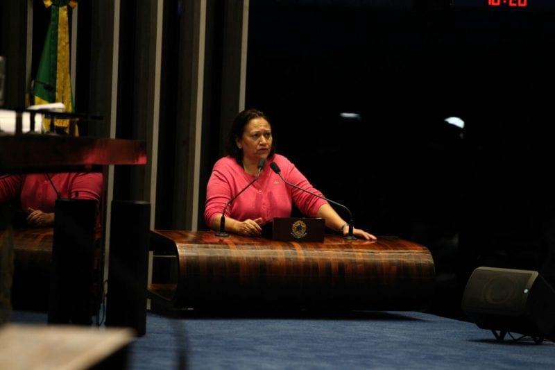Senadora Fátima pede agilidade da Câmara para sustar decreto de Temer que inviabiliza pagamento de seguro defeso