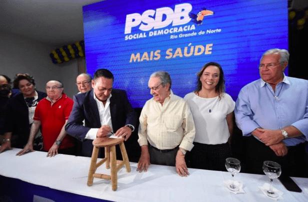 No foco da candidatura ao Senado, Geraldo Melo começa agenda intensa pelo interior